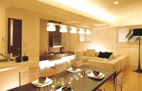 illuminazione soggiorno cucina strisce led illuminazione