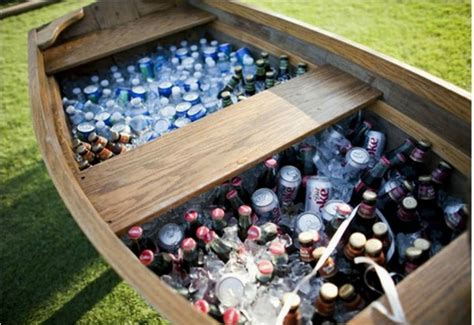 Boat Shaped Drink Cooler by Outdoor Chest Beverage Cooler Ideas For Your Patio Or Deck