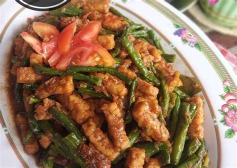 Lihat juga resep oseng kacang panjang bihun tempe enak lainnya. Resep Tumis Kacang Panjang Tempe oleh Sofie - Cookpad