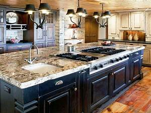Large Black Kitchen Island — New Home Design : The Best