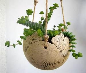 Makramee Blumenampel Kaufen : blumenampel aus keramik balkon dekorieren pottery ~ A.2002-acura-tl-radio.info Haus und Dekorationen
