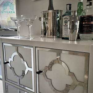 A stylish IKEA home bar for a custom look