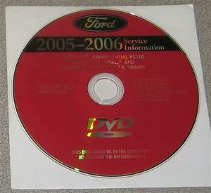 2006 Ford Freestyle Montego 500 Five Hundred Service Manual Set Dvd