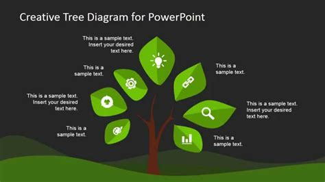 creative tree diagram template  powerpoint youtube