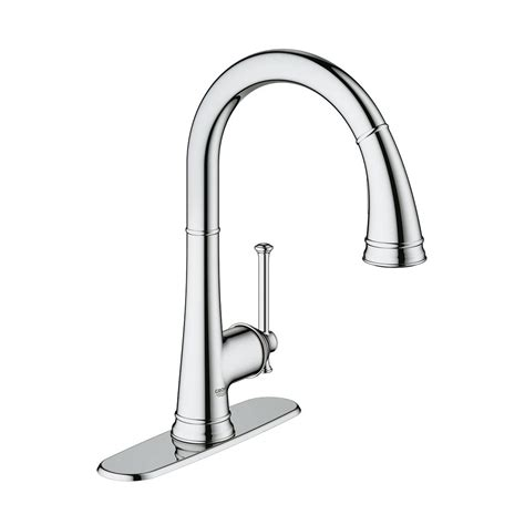 grohe kitchen faucets canada grohe 30210000 joliette pull kitchen faucet amati