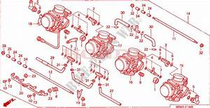 Carburetor  Assy   For Honda Cbr 600 F4 1999   Honda