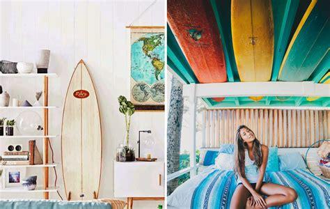chambre surf déco maison surfeur