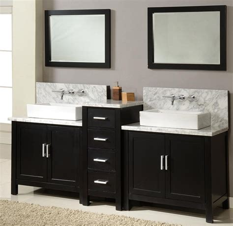 double sink vanity designs  gorgeous modern bathrooms