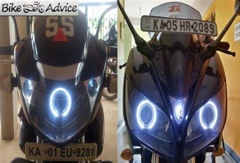 hid xenon projector lighting  bikes cost installation