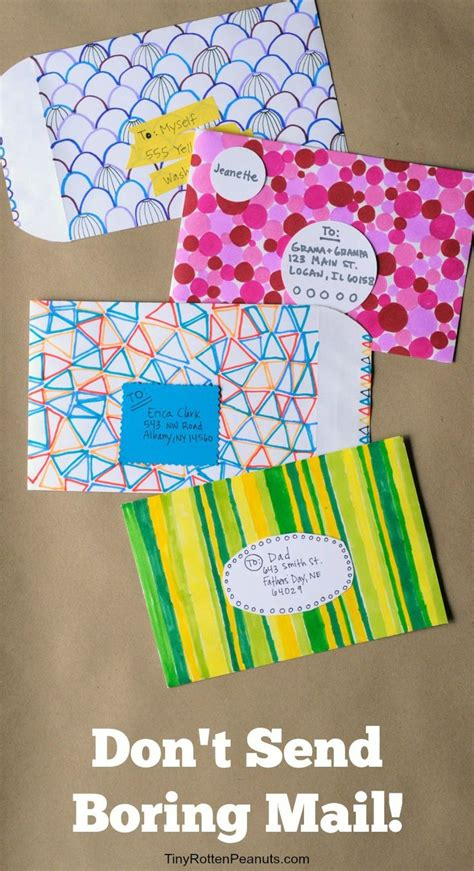 Envelope Design Ideas For Kids  Wwwpixsharkcom Images