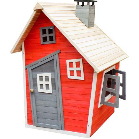 casetta giocattolo per bambini ecologica in legno abete rosso casa legno giard 51059