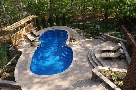 disler pool traditional pool richmond by custom