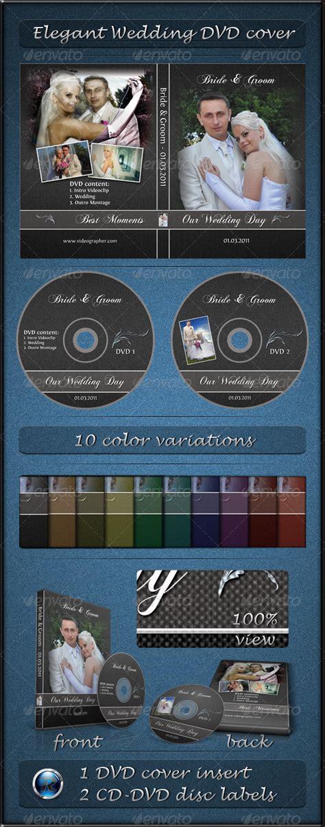 Elegant Wedding Dvd Cover Graphicriver