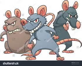 Evil Looking Cartoon Rat