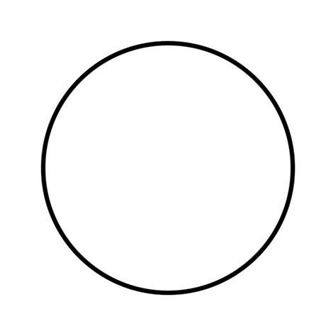 Circle Template Circle Template Clever Hippo