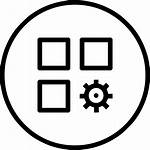 App Icon Settings Setting Application Gear Customize