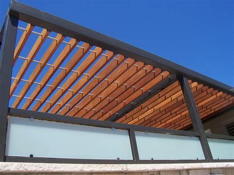 fresh air wood steel pergola up ornamental elegance