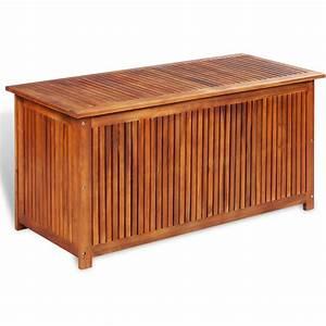 Coffre De Jardin Bois : coffre de rangement extrieur bois ~ Edinachiropracticcenter.com Idées de Décoration
