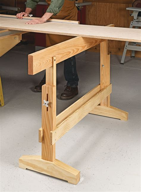 sliding  table woodworking project woodsmith plans