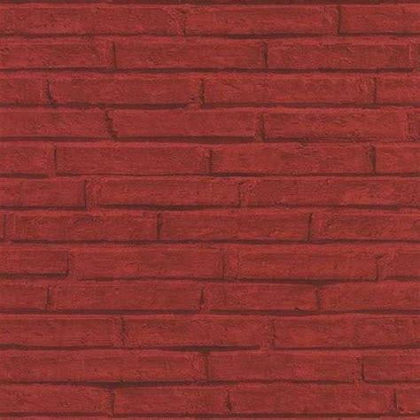 fenducci papiers peints tendance vintage brique rouge