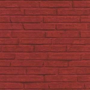 Papier Peint Brique Relief : papier peint brique rouge relief papier peint intiss mur ~ Dailycaller-alerts.com Idées de Décoration