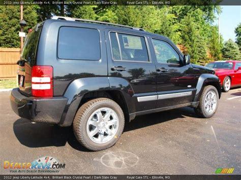 2012 Jeep Liberty Latitude by 2012 Jeep Liberty Latitude 4x4 Brilliant Black
