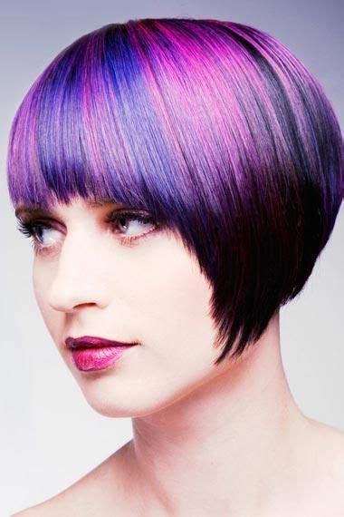 Short Hair Hipster Hair Dos Purple Hair Highlights