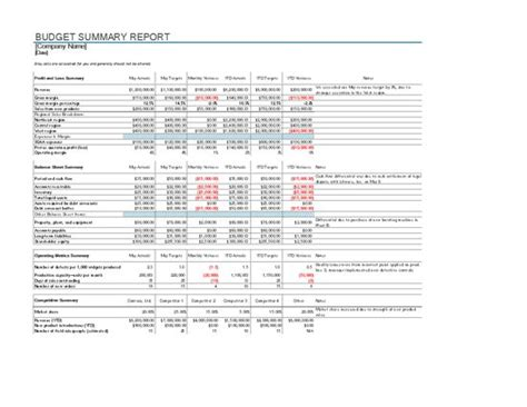 Budget Performance Report Template by Budget Performance Report Template 28 Images