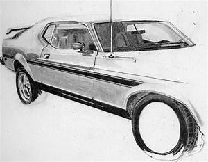 Muscle Car Drawings