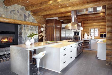 mod鑞e cuisine avec ilot central photo de cuisine avec ilot idées de design suezl com