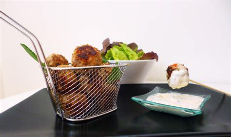 cuisiner avec un grand chef boulettes de porc au gingembre la recette facile par
