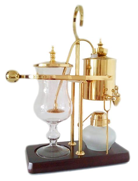Diguo belgian luxury royal family balance siphon. NISPIRA Belgian Belgium Luxury Royal Family Balance Syphon Siphon Coffee Maker Gold Color, 1 set ...