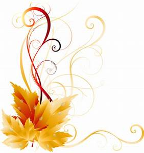 Transparent Fall Leaves Decor Picture | Backgrounds ...