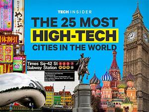 The 25 most high-tech cities in the world | Business ...