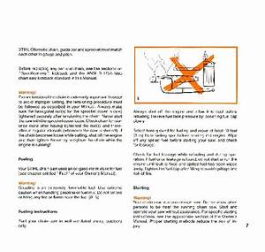 Stihl 028 Chainsaw Owners Manual