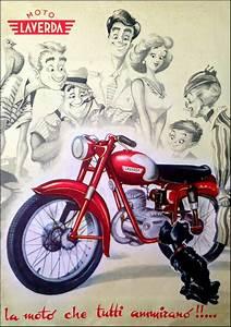 Racing Caf U00e8  Vintage Brochures  Laverda 1949  Italy