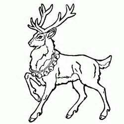 santa claus sleigh and reindeer coloring pages - Santa Claus Sleigh Coloring Pages