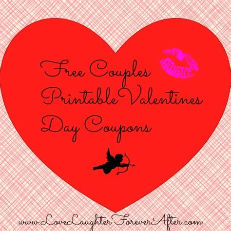 Valentine's Day Printable Coupons