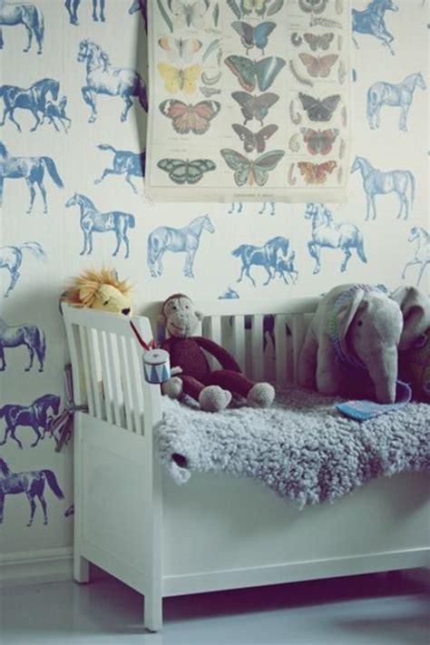Kinderzimmer Wandgestaltung Pferde by Kinderzimmer Tapeten Farbige Ideen F 252 R Ihr Interieur