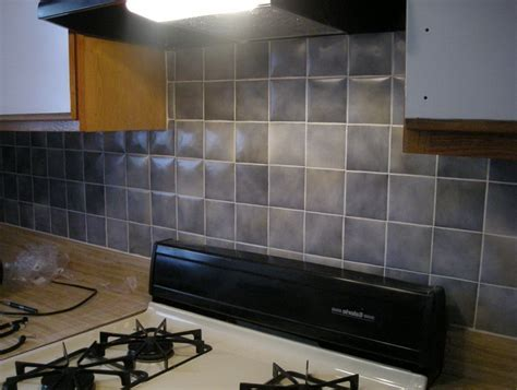 painted kitchen backsplash how to painting tile backsplash