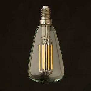 Filament Led E14 : 3 watt small edison teardrop lantern filament led e14 ~ Markanthonyermac.com Haus und Dekorationen