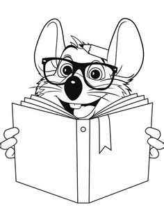 coloring page flatchucke coloring pages chuck  cheese