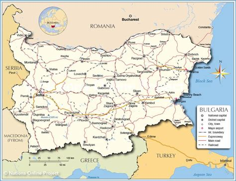 map  bulgaria images  pinterest bulgaria