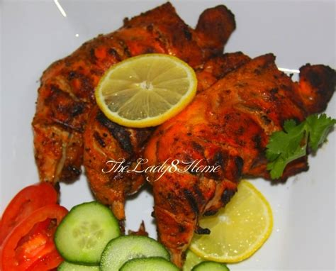 tandoori chicken  scratch  lady  home