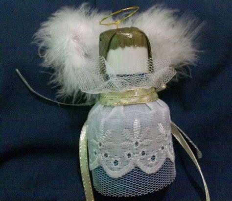 christmas angel plastic bottle craft