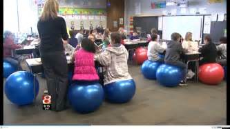 wright indiana swaps exercise balls for desk chairs in 5th grade classroom huffpost