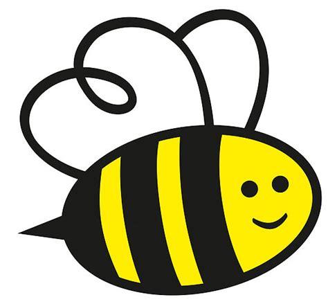 bees clipart simple cartoon pencil   color bees