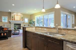 kitchen island with table extension 20 family friendly kitchen renovation ideas for your home