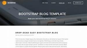 best of 2015 100 best free html and css themes noupe With free bootstrap blog template