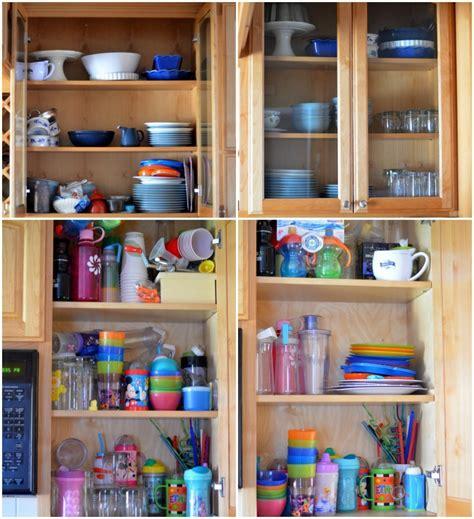 organize  kitchen cabinets  creative mom